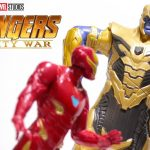 Marvel Avengers Infinity War Iron Man verses. Thanos Battle Set