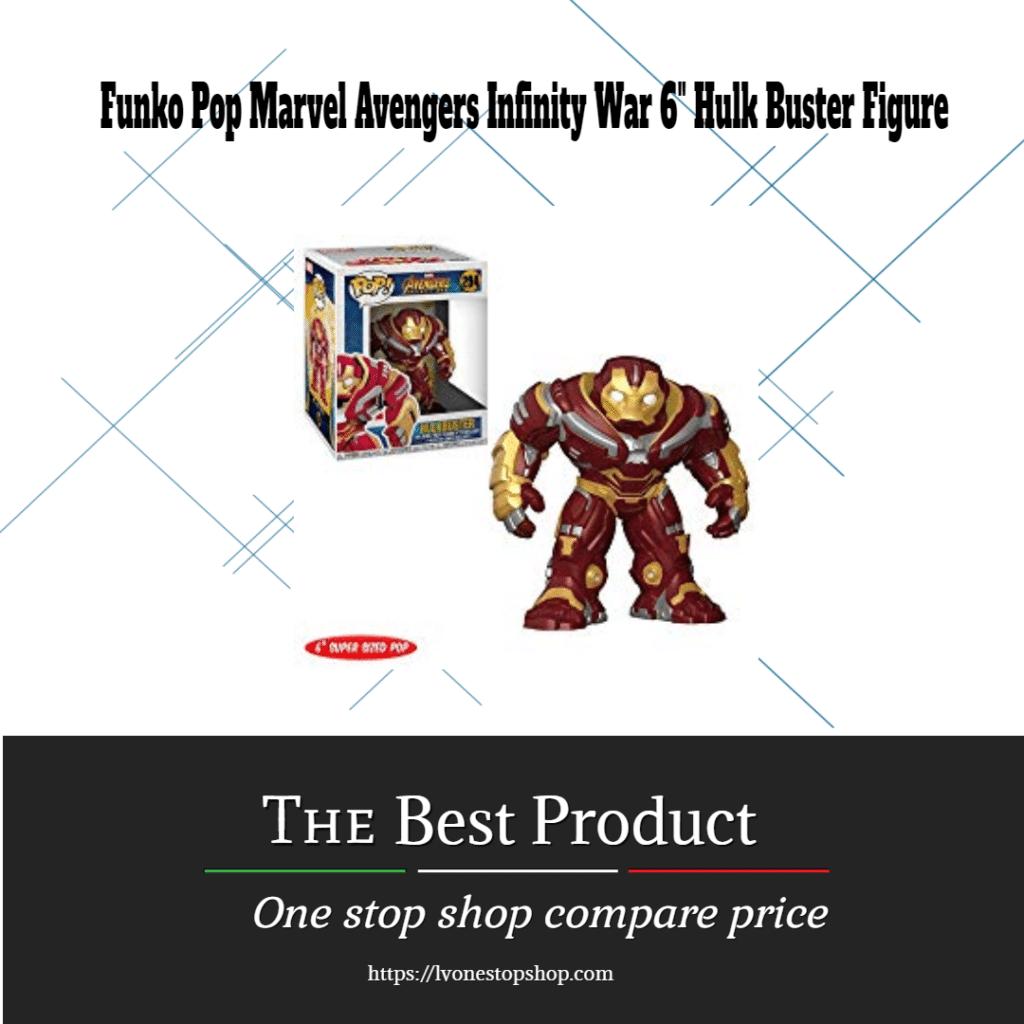 "Funko Pop Marvel Avengers Infinity War 6"" Hulk Buster Figure"