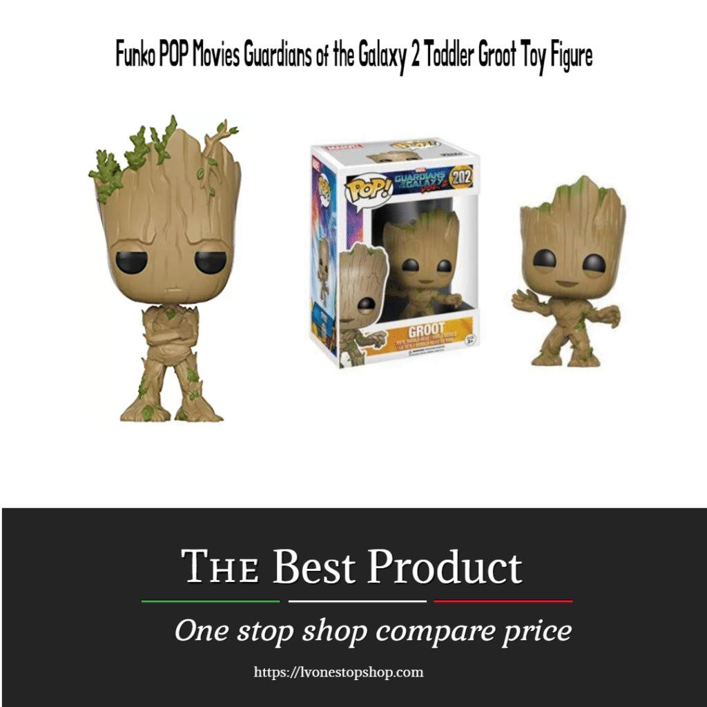 Funko POP Movies Guardians of the Galaxy 2 Toddler Groot Toy Figure