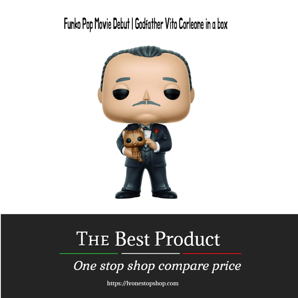 Funko Pop Movie Debut | Godfather Vito Corleone in a box