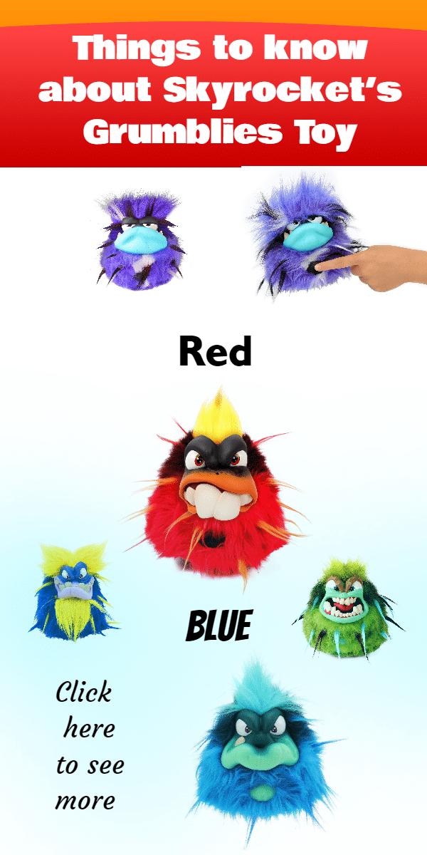 Grumblies Red